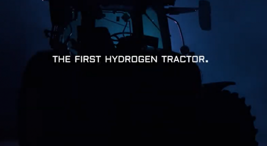 Hydrogen tractor: a first in the Netherlands
