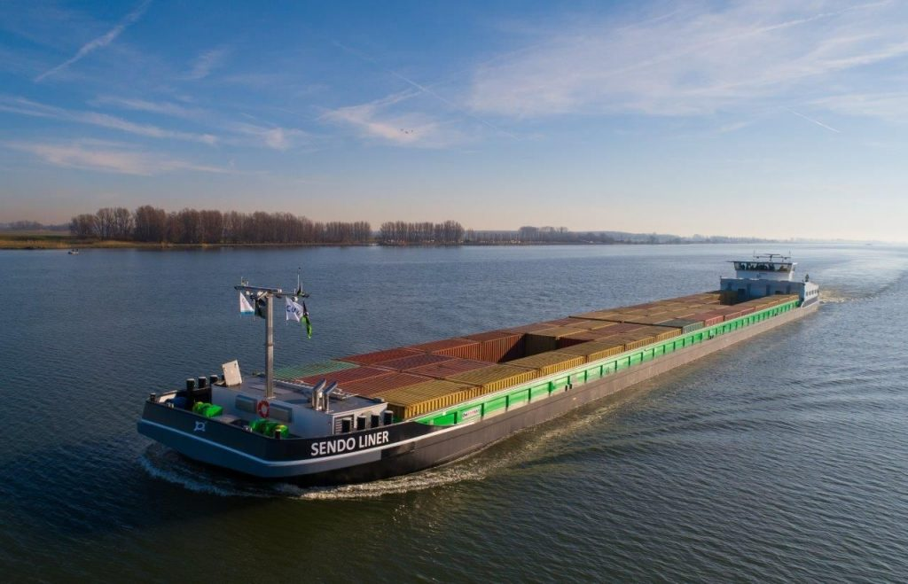 Sendo Liner - binnenvaart op groene waterstof