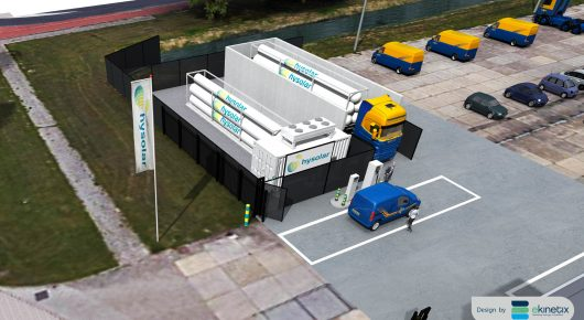 Hysolar opens hydrogen filling station in Nieuwegein