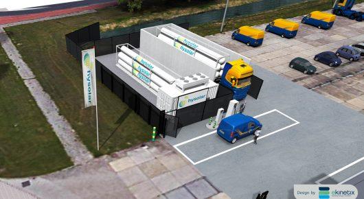 Hysolar opent waterstoftankstation in Nieuwegein