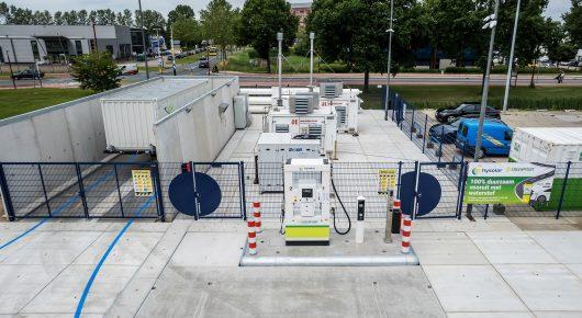 Hysolar en Greenpoint starten eerste waterstoftankstation in de provincie Utrecht